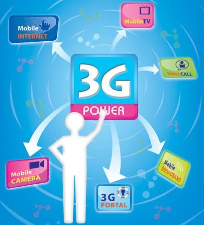 Dịch vụ mobile internet 3G vinaphone