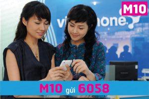 Cách đăng ký gói M10 của 3G Vinaphone