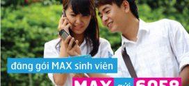 Đăng ký gói cước 3G Vinaphone sinh viên gói MAXs Vinaphone