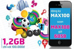 Cách đăng ký gói MAX100 của Vinaphone