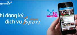 Dịch vụ VinaSport của Vinaphone