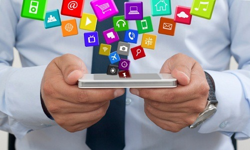 Using a mobile phone with Applications