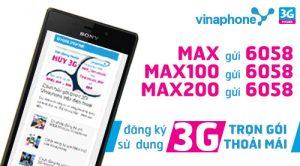 Điều kiện đăng ký 3G Vinaphone