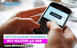 Hướng dẫn cách hủy gói MAX200 của Vinaphone