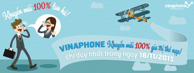 khuyến mãi Vinaphone 18-11