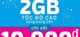 Cách đăng ký gói D2 Vinaphone 10.000đ: có 2GB dùng 24h