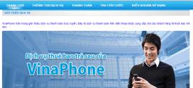 Miễn phí 100% cho thuê bao hoà mạng trả sau Vinaphone