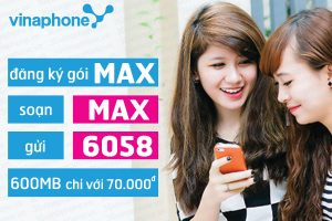 Đăng ký 3G gói MAX Vinaphone |Gói cước MIMAX Vina
