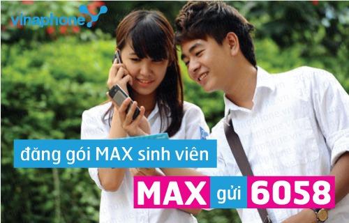 Cách đăng ký 3G gói MAX sinh viên - Gói cước MAXsVinaphone