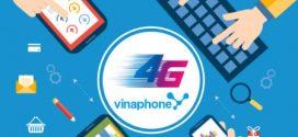 Đăng ký các gói cước 4G Vinaphone mới nhất 2017