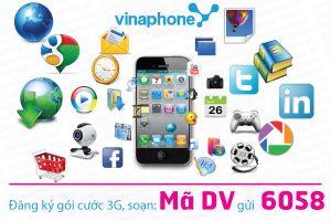 Hướng dẫn cú pháp đăng ký 3G vinaphone