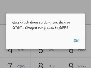 Cách kiểm tra dịch vụ Vinaphone nào đã đăng ký sử dụng