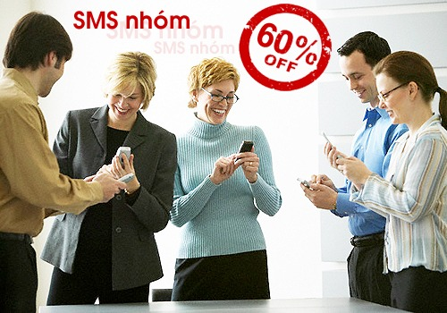 Đăng ký dịch vụ SMS nhóm của Vinaphone