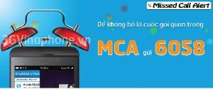 Cách huỷ dịch vụ thông báo cuộc gọi nhỡ MCA Vinaphone
