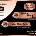 Vinaphone triển khai 4 gói cước mới cho sim đầu số 088