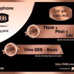 Gói cước trả trước Vina088 Basic Vinaphone cho sim 088