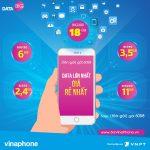Đăng ký các gói BIG DATA Vinaphone lưu lượng cực khủng
