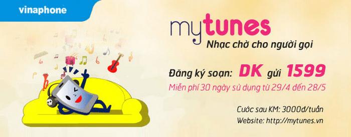 Dịch vụ nhạc chờ cho người gọi – MyTunes Vinaphone.