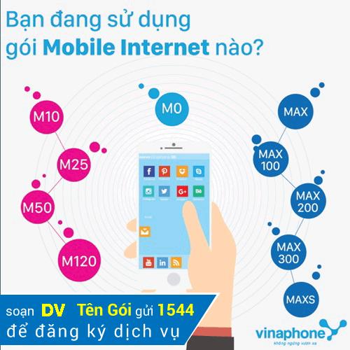 Nên đăng ký gói cước 3G nào của nhà mạng Vinaphone