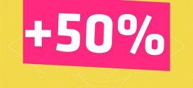 Vinaphone khuyến mãi cục bộ tặng 50% thẻ nạp ngày 13/7
