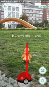Cách chơi Pokémon GO ném bóng PokeBall chính xác 100%