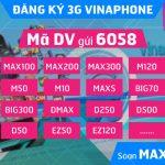 Cách đăng ký 3G Vinaphone mới nhất