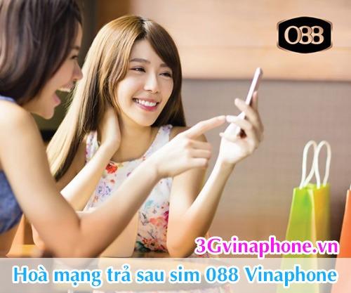 Chương trình khuyến mãi trả sau Vinaphone tháng 9/2016