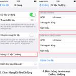 Chia sẻ wifi Hotspot trên điện thoại Iphone IOS 8, IOS 9, IOS 10