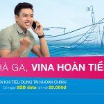 Sim Biển Xanh Vinaphone hoàn trả 100% cước phí