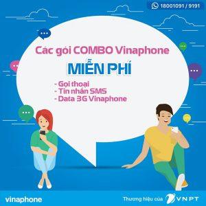 Đăng ký các gói Combo Vinaphone nhận ưu đãi KHỦNG