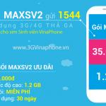 Đăng ký MAXSV2 Vinaphone sinh viên có 1,2GB data 25.000