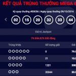 Kết quả xố số Mega 6/45 ngày 7/10/2016
