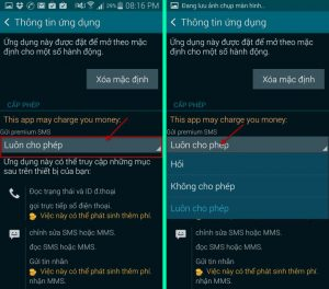 Khắc phục điện thoại gửi tin nhắn không được phải làm sao?