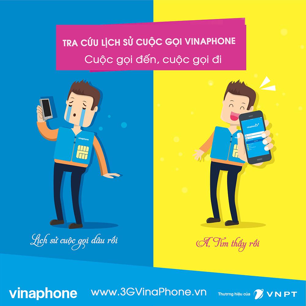 Cách kiểm tra cuộc gọi đi, cuộc gọi đến Vinaphone
