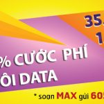Ưu đãi Đăng ký gói MAX Vinaphone chỉ 35.000đ miễn phí 1,2GB