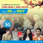 Đăng ký dịch vụ MegaClip Vinaphone thả ga hài miễn phí 3G