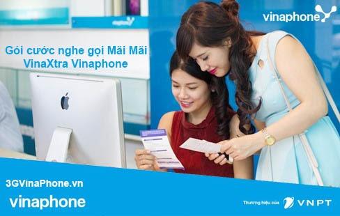 Gói cước Vinaphone nghe gọi mãi mãi – VinaxtraVinaphone