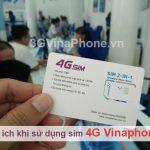 Những lợi ích khi chuyển sang sử dụng sim 4G Vinaphone