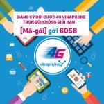 Cách đăng ký gói cước 4G vinaphone không giới hạn dung lượng