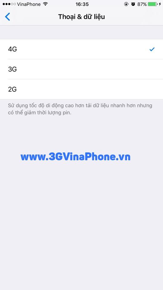 Hướng dẫn cách kích hoạt 4G bật 4G trên iPhone 6s, 6 Plus
