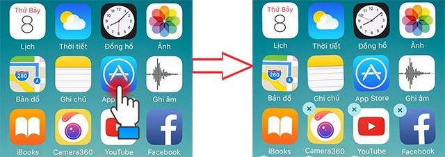 Hướng dẫn cách gỡ bỏ ứng dụng trên iPhone nhanh nhất