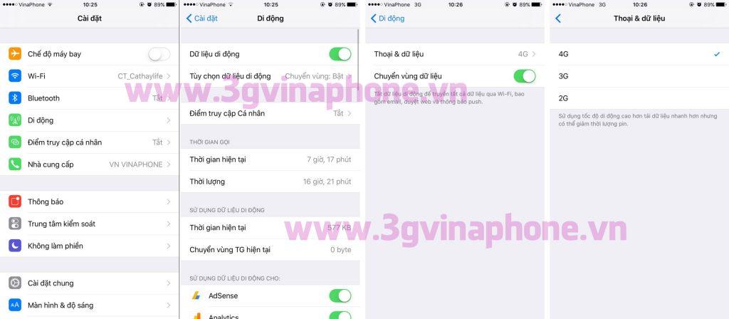 Cách khắc phục tình trạng 4G VinaPhone không kết nối được