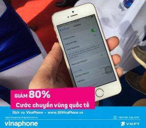 VinaPhone giảm đến 80% cước dữ liệu chuyển vùng quốc tế