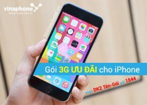 Cách đăng ký gói 3G Vinaphone cho iPhone