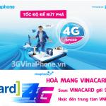 Hoà mạng gói VinaCard VinaPhone