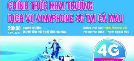 VNPT chính thức khai trương 4G tại Cà Mau hôm nay 12/4/2017