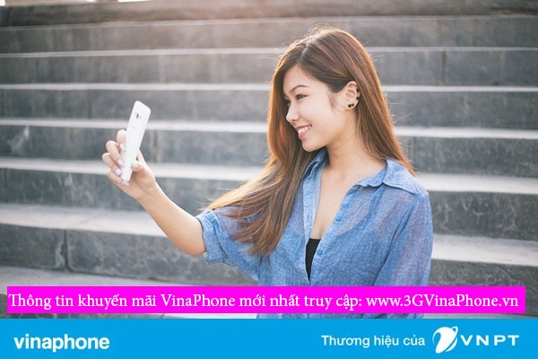 VinaPhone khuyến mãi tặng 50% giá trị thẻ nạp ngày 18/4/2017