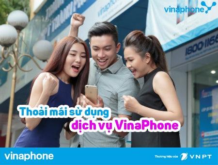 nạp thẻ điện thoại Vinaphone trong ngày 28/4 nhận 50% thẻ nạp