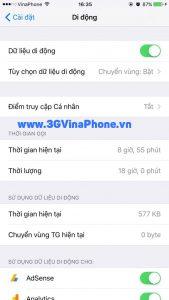 Kiểm tra iPhone 5,5S đã được hỗ trợ 4G LTE chưa?