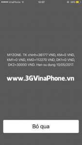 Tài khoản khuyến mãi Dk1 DV VinaPhone dùng để làm gì?